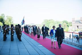 À droite, Jean Asselborn (Ministre des Affaires étrangères et européennes) ((Photo: Nader Ghavami))