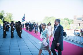 À droite, François Bausch (Ministre de la Défense) ((Photo: Nader Ghavami))