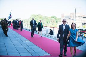 Claude Turmes (Ministre de l'Énergie) Corinne Cahen (Ministre de la Famille et de l'Intégration) ((Photo: Nader Ghavami))