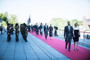À droite, Paulette Lenert (Ministre de la Coopération et de l'Action humanitaire) ((Photo: Nader Ghavami))