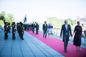 À droite, Sam Tanson (Ministre du Logement) ((Photo: Nader Ghavami))