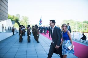 À droite, Taina Bofferding (Ministre de l'Intérieur) ((Photo: Nader Ghavami))