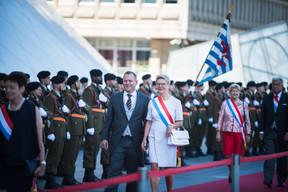 À droite, Martine Hansen (CSV) ((Photo: Nader Ghavami))