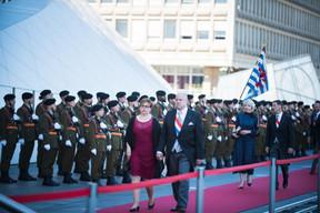 Marc Spautz et son épouse (CSV) ((Photo: Nader Ghavami))