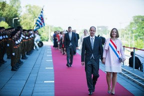 À droite Joëlle Elvinger (DP) ((Photo: Nader Ghavami))