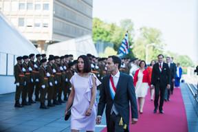 À droite, Dan Biancalana (LSAP) ((Photo: Nader Ghavami))