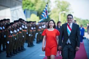 À droite, Sven Clement (Piratenpartei) ((Photo: Nader Ghavami))