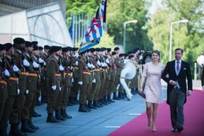 S.A.R la Princesse Stéphanie et S.A.R. le Grand-Duc Héritier Guillaume ((Photo: Nader Ghavami))