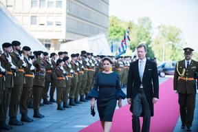 S.A.R. la Grande Duchesse Maria Teresa et S.A.R. le Grand-Duc Henri ((Photo: Nader Ghavami))