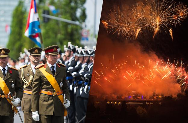 Pour la deuxième année consécutive, il n'y aura ni défilé militaire ni feux d'artifice à Luxembourg. (Photos: Nader Ghavami/Archives)