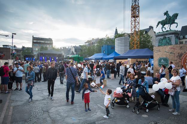 Aucune festivité dans la rue n'est possible pour la Fête nationale2020, mais la Ville a imaginé une campagne digitale axée sur la solidarité. (Photo: Nader Ghavami / Archives Maison Moderne)