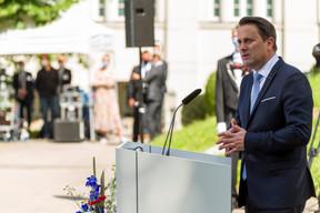 Xavier Bettel, Premier ministre, ministre d'État (© SIP / Jean-Christophe Verhaegen, tous droits réservés)