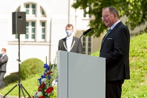 Fernand Etgen, président de la Chambre des députés (© SIP / Jean-Christophe Verhaegen, tous droits réservés)