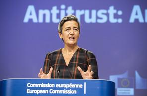 Margrethe Vestager confirme que la Commission va continuer à se battre aux côtés des états membres de l'Union européenne. (Photo: European Union, 2020)