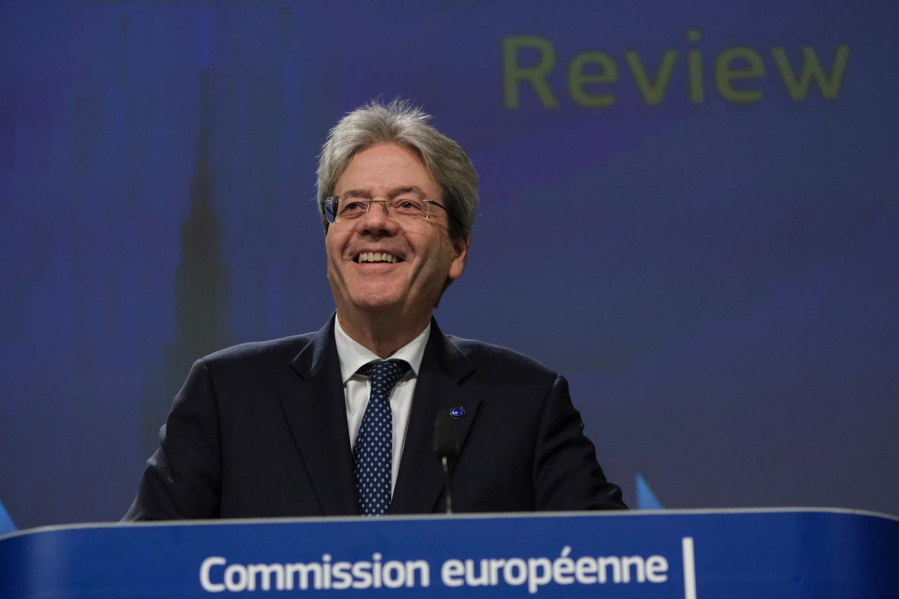 Le commissaire européen à l'Économie, PaoloGentiloni, a salué une «victoire pour l'équité fiscale». (Photo: Shutterstock)