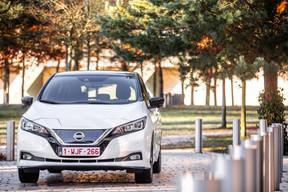 Avec une batterie qui passe de 40kWh à 62kWh, la japonaise électrique la plus vendue dans le monde met la barre plus haut et offre la possibilité de parcourir quelque 350km. ((Photo: Edouard Olszewski))