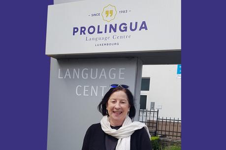 Marita Putz, professeure et formatrice des futurs professeurs en charge du département de luxembourgeois et de l'allemand. Prolingua