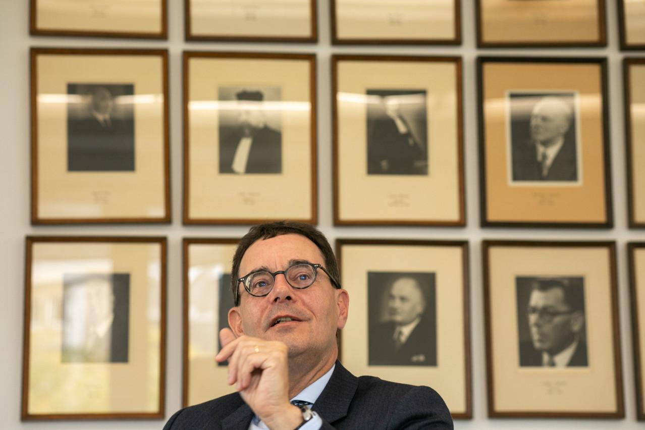 Me Kremer passe le relais à l'issue d'un bâtonnat marqué par le Brexit, la crise sanitaire et diverses attaques contre le secret professionnel de l'avocat. (Photo: Matic Zorman/archives Maison Moderne)