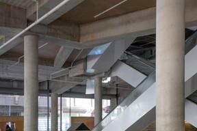 À l'intérieur des Galeries Lafayette, 10 escalators desserviront les étages. ((Photo: Jan Hanrion / Maison Moderne))