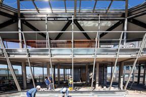 D'ici quelques mois, ce sera le restaurant Manko qui occupera cet espace. ((Photo: Jan Hanrion / Maison Moderne))