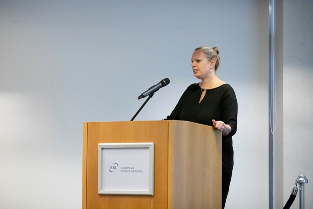 La ministre Carole Dieschbourg a appelé la Place à agir toujours plus pour la finance soutenable. (Photo: Patricia Pitsch/Maison Moderne)