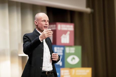Bertrand Piccard, Président de la Fondation Solar Impulse Patricia Pitsch - Maison Moderne Publishing SA
