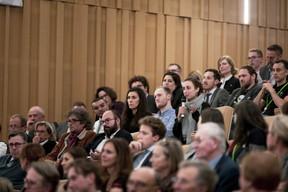 Conférence centenaire de BGL BNP Paribas  (Patricia Pitsch - Maison Moderne Publishing SA)