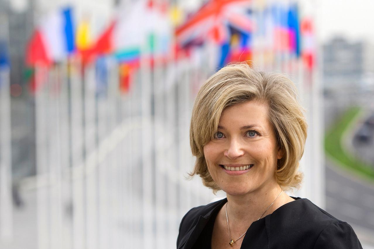 Eila Kreivi, head of capital markets à la BEI, démonte les arguments des sceptiques quant à l'intérêt de se tourner vers une finance plus durable. (Photo: BEI)