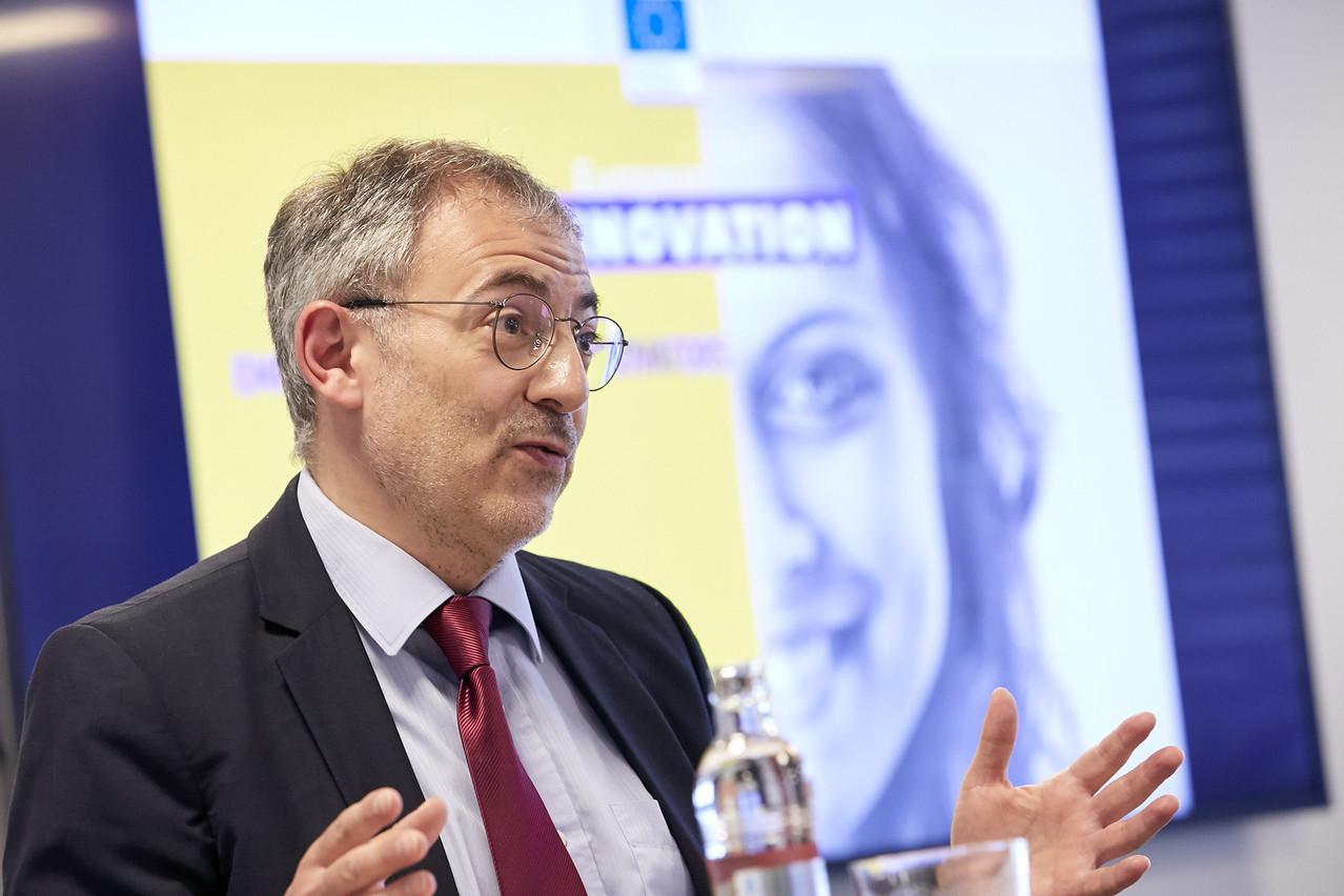 PourStéphane Ouaki, chef de l'unité des «instruments financiers» à la DG Recherche et Innovation de la Commission européenne, les sociétés européennes doivent pouvoir être aidées dans les secteurs où elles dominent le marché. (Photo: Studion Photography/Luxinnovation)