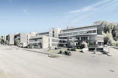 Le bâtiment rénové Ikaros 2.0 accueille l'ensemble du personnel du CTIE et une extension de l'Administration des contributions directes. (Photo: Square Meter)