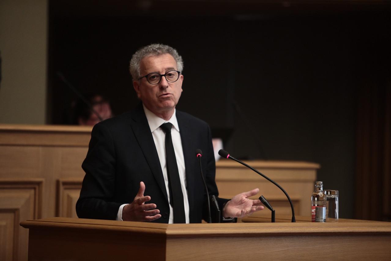 Le ministre des Finances, PierreGramegna, observe les premiers impacts des mesures de sauvetage prises par le gouvernement sur le budget. (Photo: Matic Zorman/archives Paperjam)