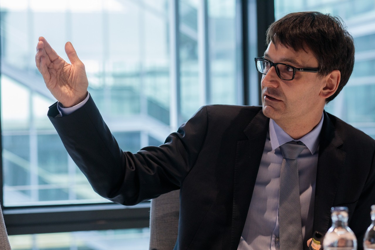 Pour MarcWagener,la situation économique luxembourgeoise se présente très favorablement en comparaison européenne. (Photo: Matic Zorman/Maison Moderne)
