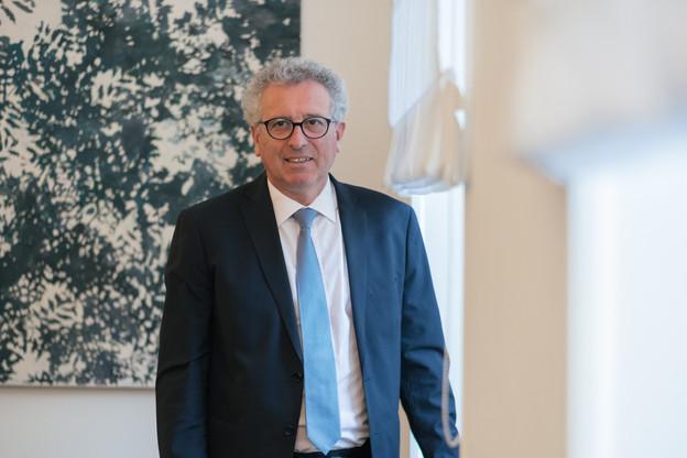 Le ministre des Finances, PierreGramegna, estime que le Luxembourg reviendra vite dans une trajectoire positive. (Photo: SébastienGoossens/Archives)