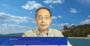 Ma Jun, chairman of the China Green Finance Committee and founder & president of the Beijing Institute of Finance and Sustainability. Bank of China Luxembourg
