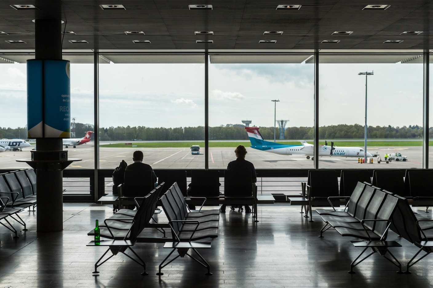 A terminal at lux-Airport in Findel Photo: Anthony Dehez
