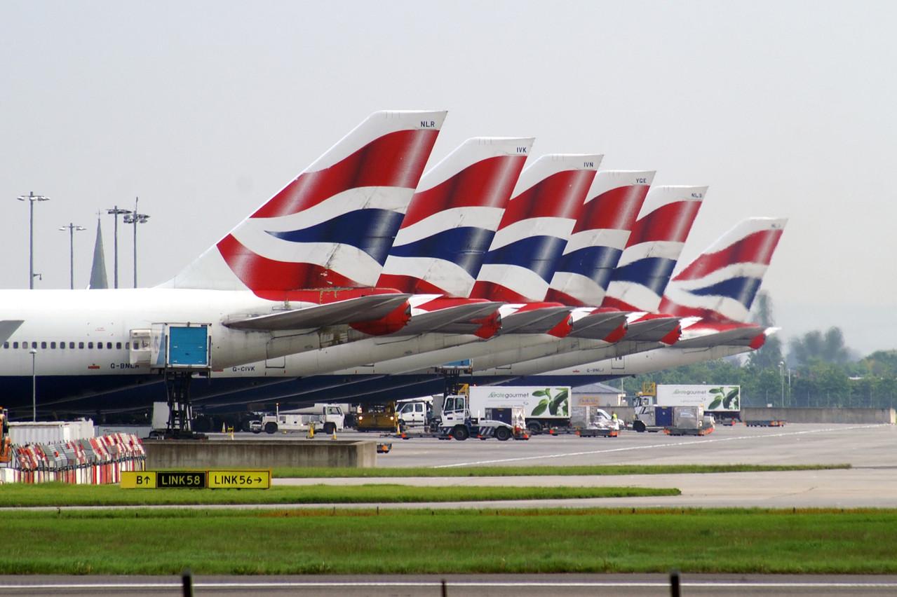 Les avions de British Airways sont bloqués au sol jusqu'à mardi. (Photo: Shutterstock)