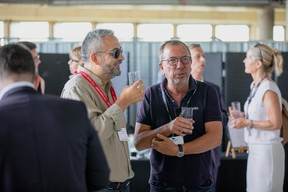 Mike Koedinger (Maison Moderne) et Alain Berwick (AB16) ((Photo: Jan Hanrion / Maison Moderne))