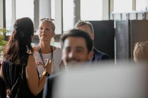 Marianne Van den Eerenbeemt (Livinlux) ((Photo: Jan Hanrion / Maison Moderne))