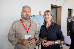 Mike Koedinger (Maison Moderne) et Lydie Polfer (Ville de Luxembourg) ((Photo: Jan Hanrion / Maison Moderne))