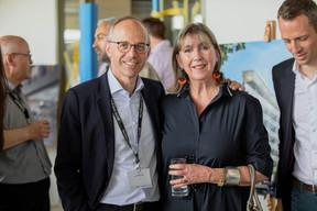 Luc Frieden (Chambre de Commerce) et Lydie Polfer (Ville de Luxembourg) ((Photo: Jan Hanrion / Maison Moderne))