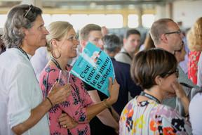 Jacques Kayser et Isabelle Gerges ((Photo: Jan Hanrion / Maison Moderne))