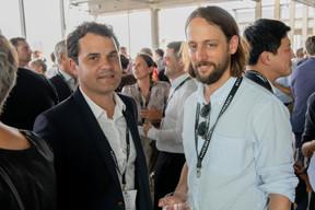 Vincent Beck (Codic) et Benji Kontz (Arnold Kontz Group) ((Photo: Jan Hanrion / Maison Moderne))