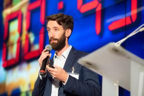 Simon Schwall (CEO de OKO) - 2e prix des Fintech Awards Luxembourg ((Photo: Anthony Dehez))
