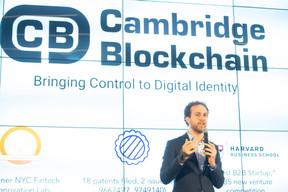 Nadim Takchi (Cambridge Blockchain) ((Photo: Anthony Dehez))