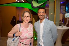 À droite, Richard Karacian (CEO de Maison Moderne) ((Photo: Anthony Dehez))