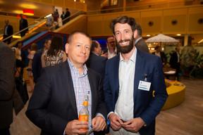 À droite, Simon Schwall (CEO de OKO) ((Photo: Anthony Dehez))