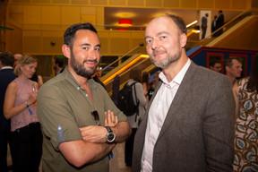 À droite, Olivier Debeugny (Lingua Custodia) ((Photo: Anthony Dehez))