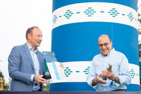 Pascal Denis (KPMG Luxembourg) et Robert Levine (Uniken) ((Photo: Anthony Dehez))