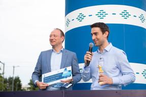 Pascal Denis (KPMG), Matthieu Cottin (Tokeny) ((Photo: Anthony Dehez))