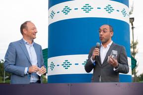 Pascal Denis (KPMG) et Pedro Penedo (KPMG) ((Photo: Anthony Dehez))